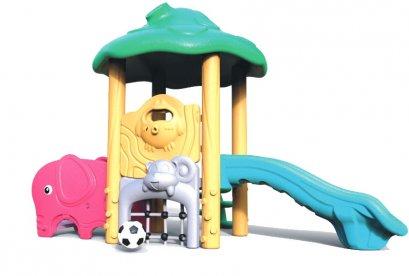 Sealplay สนามเด็กเล่น กระดานลื่น สไลเดอร์- เครื่องเล่นสนาม ชุดมินิฟอเรสสไลด์แอนด์โกล