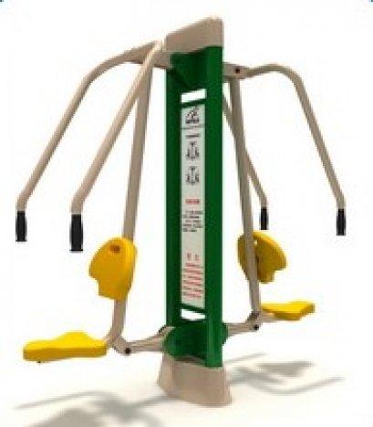 Sealplay เครื่องออกกำลังกายกลางแจ้ง ฟิตเนสกลางแจ้ง สวนสาธารณะ สถานีผลักบริหารกล้ามแขนคู่