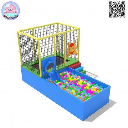 Sealplay ห้องบอล บ้านบอล แทรมโปลีน-ห้องแทรมโพลีน 040