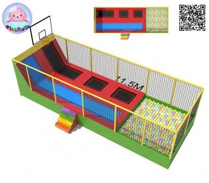 Trampoline playground 128