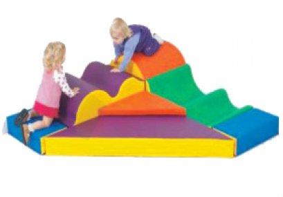 Sealplay ของเล่นเบาะนุ่ม ปีนคลาน ชุดเข้ามุมปีนคลื่น