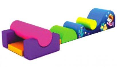 Sealplay ของเล่นเบาะนุ่ม ปีนคลาน ชุดลูกกลิ้งรางคลื่น