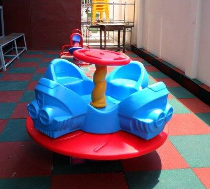 Sealplay ของเล่นสนาม แท่นหมุน UFO 4 ที่นั่ง