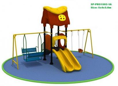 Sealplay สนามเด็กเล่น กระดานลื่น สไลเดอร์- เครื่องเล่นสนาม A+ FAMILY HOME SWING