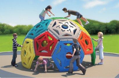 Sealplay เครื่องเล่นสนาม ของเล่นสนาม ปีนป่าย ท่อลอด ลูกโลกปีนป่ายดาว (สูง)