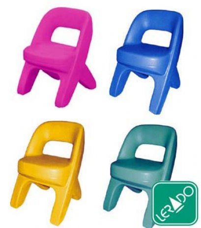 เก้าอี้หลากสี