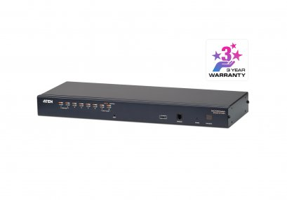 KH1508A 8-Port Multi-Interface (DisplayPort, HDMI, DVI, VGA) Cat 5 KVM Switch