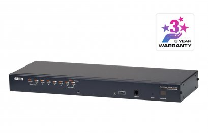 KH1508Ai 1-Local/Remote Share Access 8-Port Multi-Interface Cat 5 KVM over IP Switch [ Enterprise ]