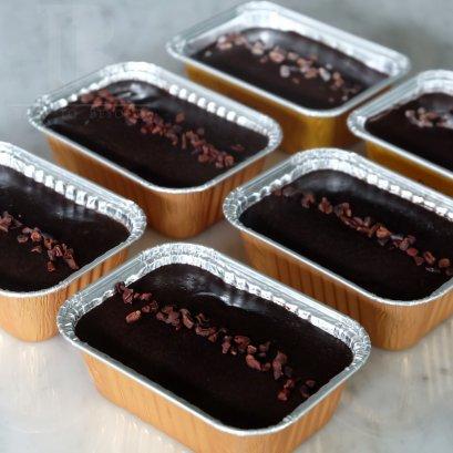 ช็อคโกแลตฟัดจ์ คาเคานิบส์ (Vegan Chocolate Fudge with Cacao Nibs)
