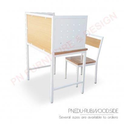 ชุดโต๊ะเก้าอี้นักเรียน (บังข้าง)