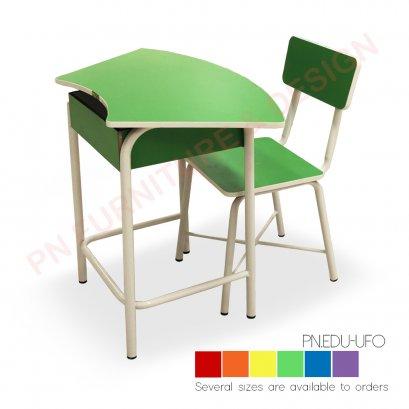 ชุดโต๊ะเก้าอี้นักเรียน (วงกลม)