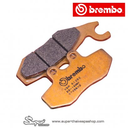 THE BREMBO FRONT SINTER BRAKE PADS (GTS)