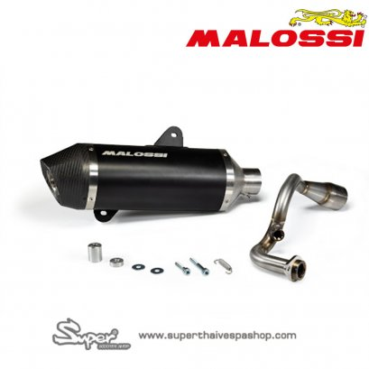 MALOSSI EXHAUST SYSTEM RX BLACK