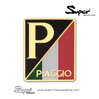 THE GOLD VESPA PIAGGIO EMBLEM
