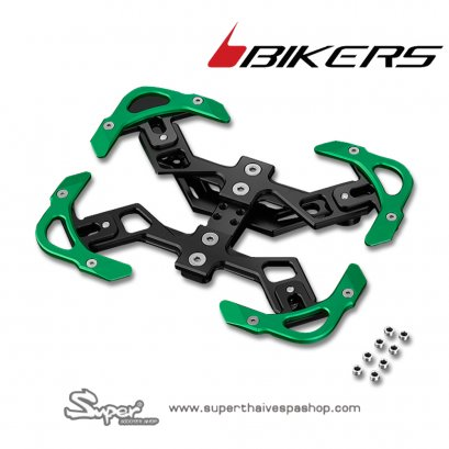 BIKERS PREMIUM REAR LICENSE SUPPORT (GREEN)