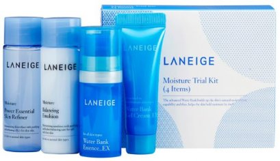Laneige Moisture care Trial kit (4items )