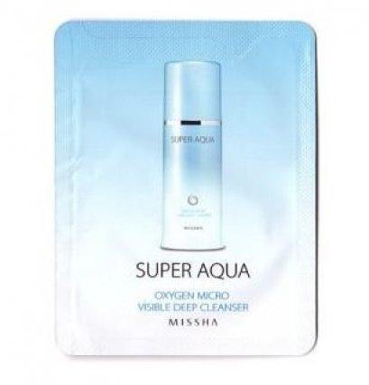 Missha Super Aqua Oxygen Micro Visible Deep Cleanser 3ml*10ea