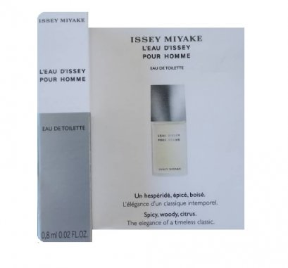 ISSEY MIYAKE L'EAU D'ISSEY POUR HOMME 0.8ml