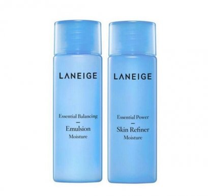 Laneige essential moisture skin25ml +emulsion 25ml