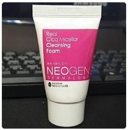 Neogen real cica micellar cleansing foam 20ml