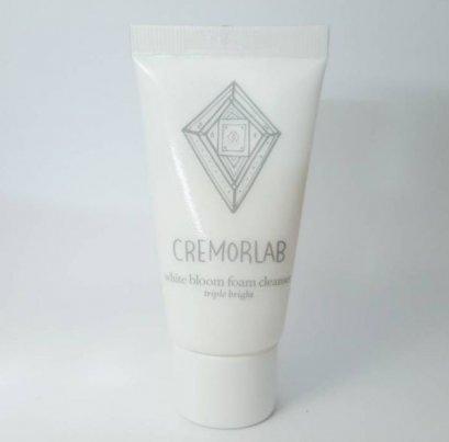 CREMORLAB white bloom foam cleanser 15ml