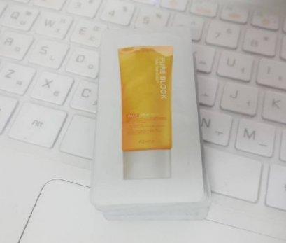 Apieu Pure block Daily sun cream 1ml*7ea