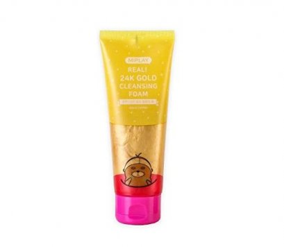 MIPLAY Real 24K Gold Cleansing foam 150g