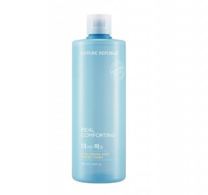 Nature republic Real comforting Hyaluronic Acid water toner 400ml