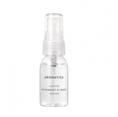 Aromatica Essential peppermint & Lemon Sanitizer 30ml