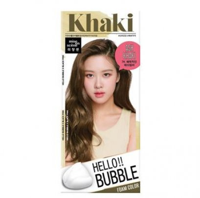 Mise en scene Hello Bubble Foam color # 7K Khaki