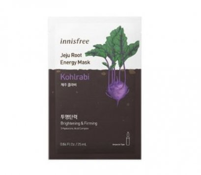Innisfree Jeju Root energy mask # Kohlrabi
