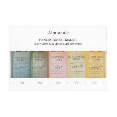 Mamonde Flower Toner Trial Kit 25mlx5ea