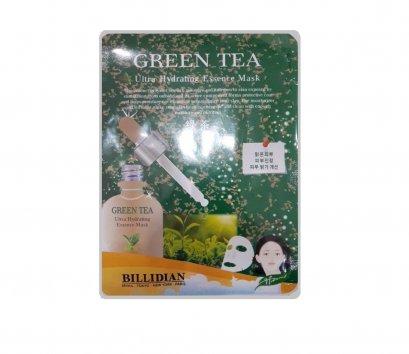 Billidian Ultra Hydrating essence mask # Green Tea