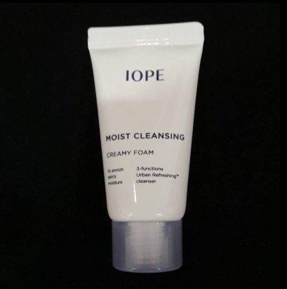 IOPE Moist cleansing creamy foam 15ml