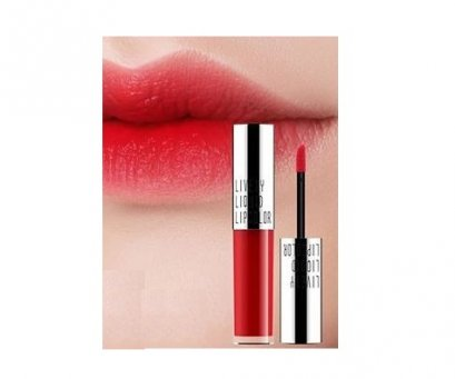 Eglips Lovely liquid lip color #04 Aurora red