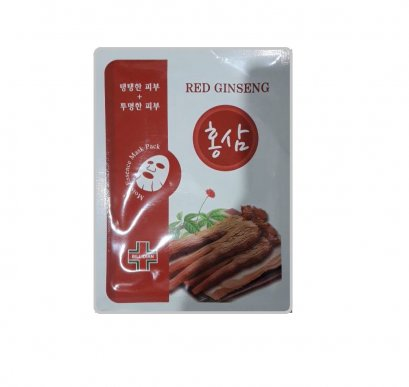 Billidian Moist essence mask pack #Red ginseng