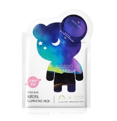 OOZOO bear aurora illuinating mask