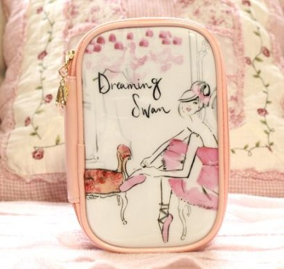 Etude house dreaming swan pouch