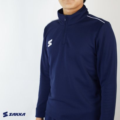 SAKKA TRAINING HALF ZIP NAVY