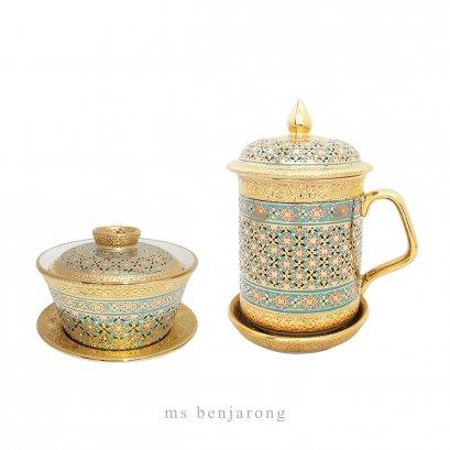 Mug cup + Chinese tea cup
