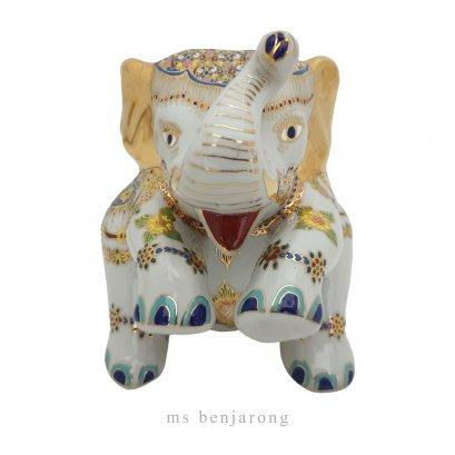 Elephant Sit | Benjarong