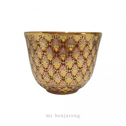 Tea Cup Benjarong