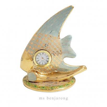 Fish Clock Benjarong