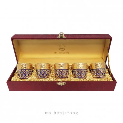 Sake Gold + Silk Box