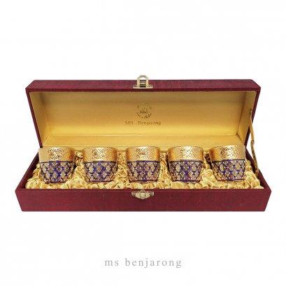 Sake Gold + Silk Box