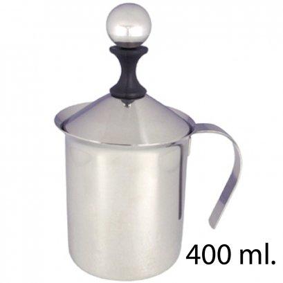 เหยือกปั๊มฟองนม 400ml.
