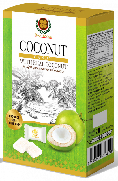 BoonFoods Coconut Candy with Coconut Meat