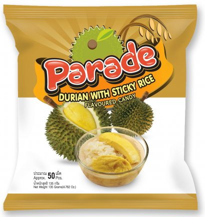 Parade Durian with Sticky Rice Flavoured Candy