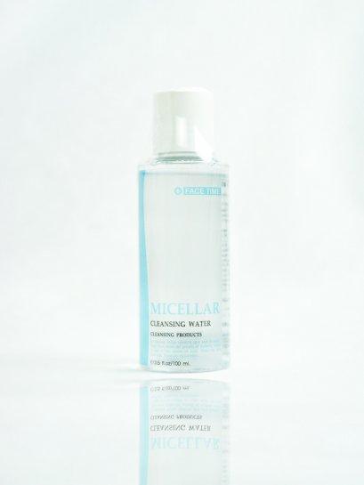 Micellar Cleansing Water ผลิตภัณฑ์เช็ดทำความสะอาดผิวหน้า รอบดวงตาและริมฝีปาก FACETIME 100 ml
