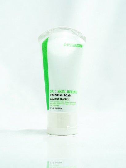 3X : SKIN REFINE ESSENTIAL FOAM ผลิตภัณฑ์ทำความสะอาดใบหน้าด้วยโฟมสูตรพิเศษ FACETIME  50 g